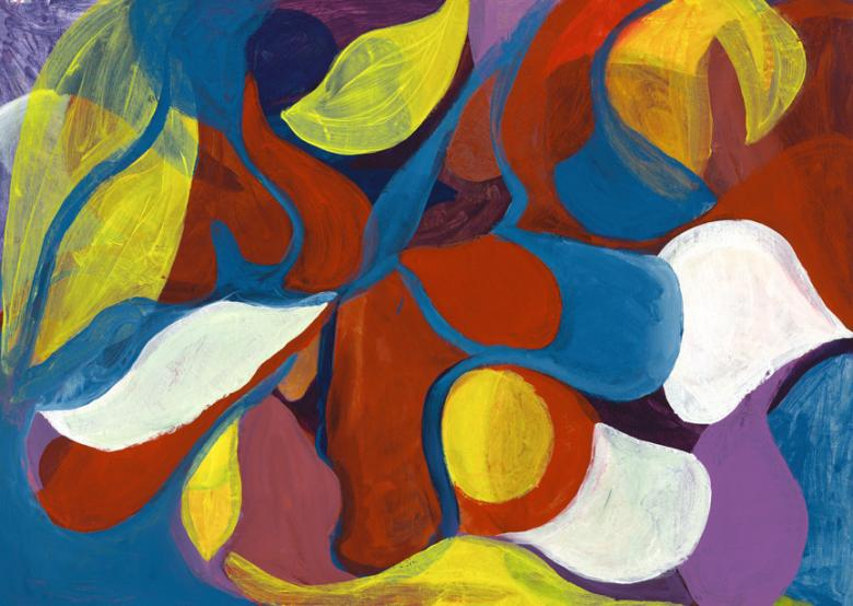 Acrylic on paper, 20x27.7in-50.5x70.5 cm. Fig. 072