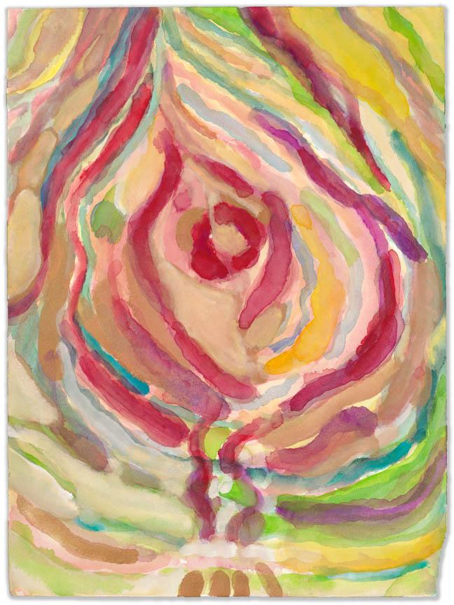 Gouache and sumi ink on high quality acid-free art paper, 12x9in - 30.5x22.5cm. Fig. 195