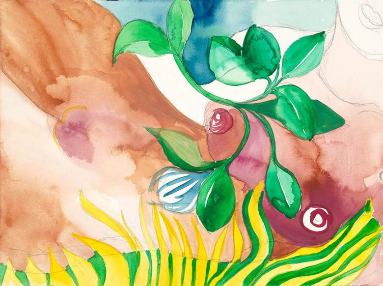 Watercolor on high quality acid-free art paper, 14.5x10.5in - 36.5x27cm. Fig. 234
