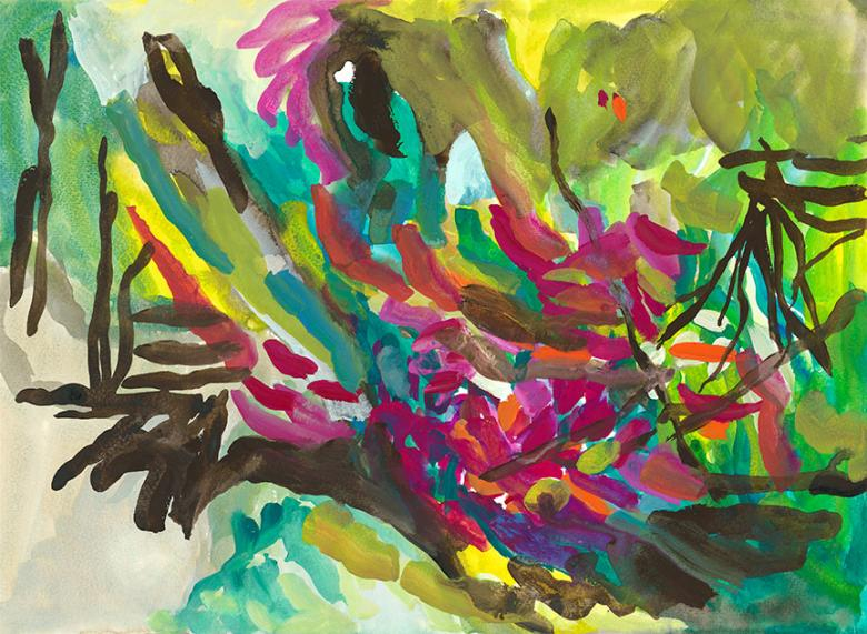 Gouache on high quality art paper, 11x15 in - 27.6x38 cm. Fig. 096