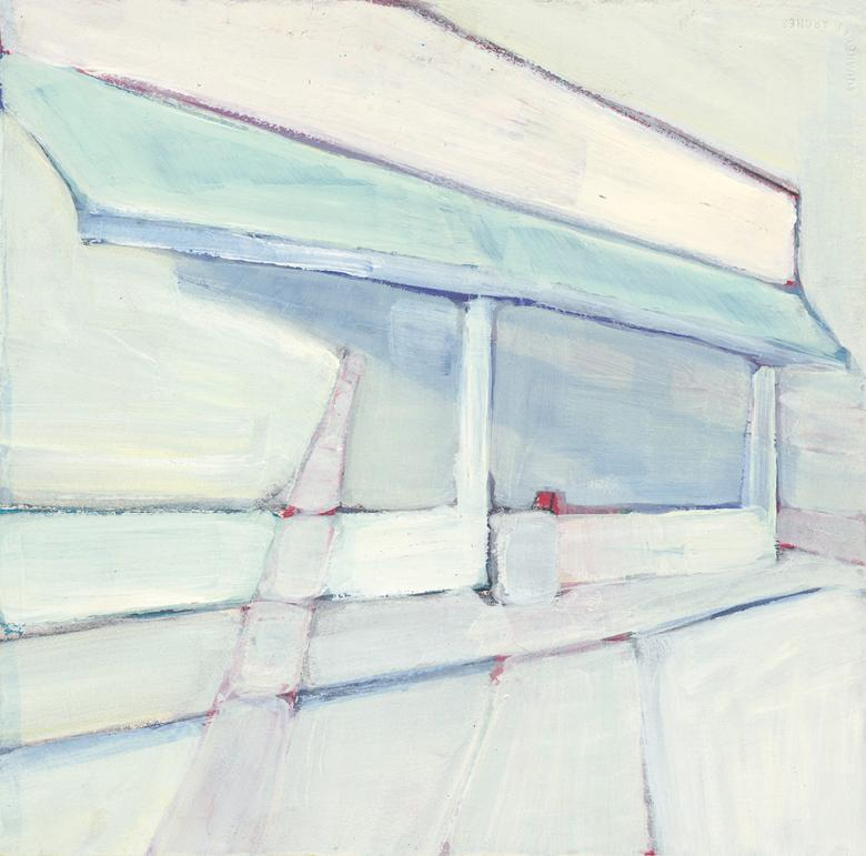 Store. Acrylic on arches paper, 16x15.7in - 40.5x40cm. Fig. 102180